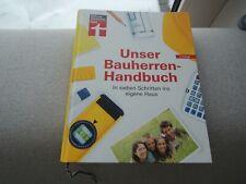 Sachbuch Unser Bauherren Handbuch Haus Planung Stiftung Warentest wie NEU
