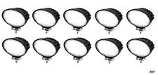 10 Powerful 40w Led 5.5'' Oval Led Work Lights 12-24v Lamp Lorry Tractor Offroad