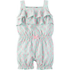 NWT INFANT GIRLS CHILD OF MINE MADE BY CARTER'S MULTI-COLOR ROMPER  SIZE 0-3 MO
