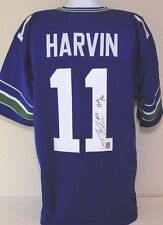 Percy Harvin Seattle Seahawks 12th Man Autographed NFL Jersey Signed GTSM COA