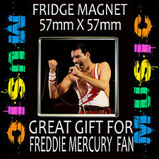 FREDDIE MERCURY- FRIDGE MAGNET57 X 57mm SQUARE  #6