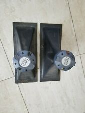 A Pair of Carvin HT 151-16 Tweeter Driver and Horn
