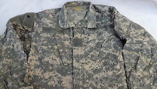 Army Combat Uniform Shirt Coat Jacket Digital Camouflage Sz Small Short  Pockets
