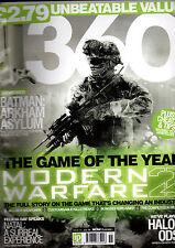 360 GAMES MAGAZINE-MODERN WARFARE 2-BATMAN ARKHAM ASYLUM-HALO 3:ODST-ISSUE 55