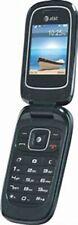 y7bgAt&T Z222 - Blue (At&T) Cellular Phone + Free H2O Sim Card.