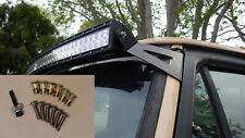 """Dodge w250 w350 52"""" Curved Light Bar Roof Mount bracket w/install kit 1974-1993"""