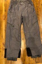 "Alpine Design Mens Medium Ski Pants Snowboarding Gray Adj Waist 34"" W 29"" Inseam"