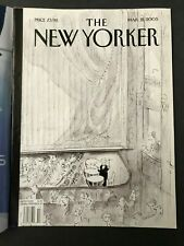 Magazine Journal THE NEW YORKER mars 2005 Sempé