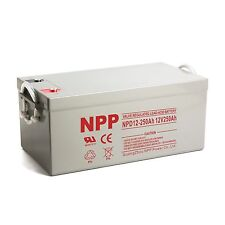 NPP  NPD12-250Ah Wind Solar Storage Deep Cycle12V 250Ah Battery 2 years warranty