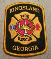GA Kingsland Georgia Fire Rescue Patch