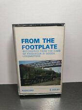 FROM THE FOOTPLATE (Steam Train Cassette Tape) : TESTED