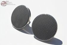 32-59 Ford Custom Truck Hot Rod Stainless Brake Clutch Pedal Arm Pads Set of 2