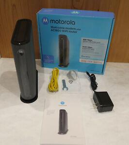 Motorola MG7540 DOCSIS 3.0 AC1600 Wi-Fi Gigabit Ethernet Cable Modem Router