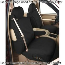 Covercraft SS2540PCCH Polycotton SeatSaver Front Row Seat Covers (Charcoal) NEW