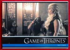 GAME OF THRONES - Season 6 - Card #22 - NO ONE A - Rittenhouse 2017