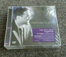 Michael Buble 3 new sealed CDs bundle - caught in the act, crazy love, come fly