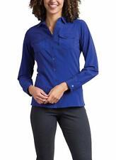Womens Medium Blueprint ExOfficio Kizmet Travel Shirt UPF 50 Button Down
