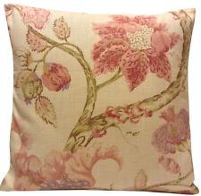 Linen Blend Floral Contemporary Decorative Cushions