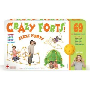 CRAZY FORTS FLEXI FORTS BENDABLE FLEXIBLE  AGES 5+ FREE POSTAGE