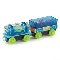 Thomas & Friends Fisher-Price Wood, Aquarium Cars Train Set GGH18 NEW