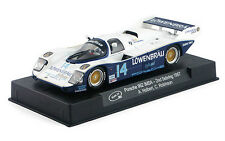 SLOT IT SICA25B PORSCHE 962 LOWENBRAU IMSA #14  SEBRING 1987  1/32 SLOT CAR