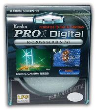 Kenko 62mm Pro1 Digital R-Cross Screen 4x Star Filter