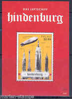 PALAU  2013  HINDENBURG DISASTER SOUVENIR SHEET MINT NH