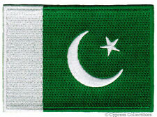 PAKISTAN FLAG embroidered iron-on PATCH PAKISTANI SOUVENIR EMBLEM APPLIQUE new