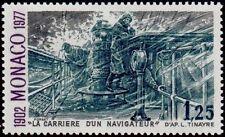 """MONACO N° 1108 """"ALBERT 1er NAVIGATEUR, PRINCESSE ALICE II , 1 F 25""""NEUF xxTTB"""