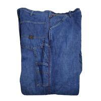 Vintage Men's Ralph Lauren Polo Loose Fit Carpenter Denim Jeans Size 40x34