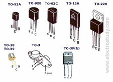 SGS BDW21C General Purpose Power Transistor TO-204AA New Quantity-1