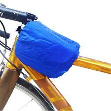 3Pcs Waterproof Bicycle Nylon Cycling Bag Pannier Bike Backpack Cover Protector