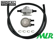 """MOCAL 3/4UNF 1/2"""" REMOTE OIL FILTER KIT FOR VW AUDI SEAT FORD BMW ENGINES POK3"""