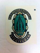BSA Motorcycles British Small Arms Company Birmingham Sticker - NEW - (F-147)