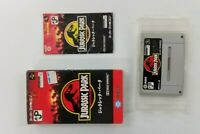 JURASSIC PARK Nintendo Super Famicom with BOX Japanese SFC SNES Japan USED