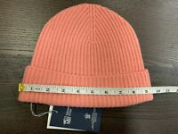 100% Cashmere Beanie Hat | Johnstons of Elgin | Made in Scotland | Pink | Soft