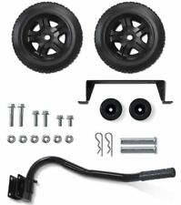 "Champion 2800-4750W Generator Wheel Kit Axle Folding Handle 8"" Never-Flat Tires"