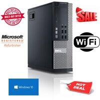 Dell Optiplex HDMI ULTRA Fast cheap Desktop Core i5 8GB 250GB HDD Windows 10 PC