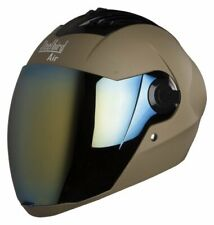 Steelbird Air Sba-2 Full Face Matt Desert Motorcycle Helmet With Extra Visor-L