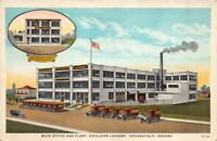 Postcard Main Office and Plant Excelsior Laundry in Indianapolis, Indiana~124924