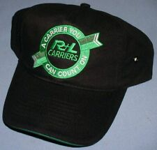 R+L Carriers Embroidered Trucker Hat Ball Cap Baseball ** NEW