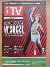 MERYL DAVIS & CHARLIE WHITE on front cover GAZETA TV (Figure Skating)