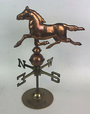 vintage COPPER & BRASS WEATHER VANE ROSENTHAL & NETTER