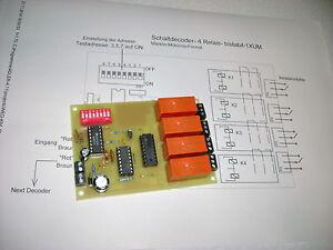 Schaltdecoder-(K84) - bistabile Relais-MM