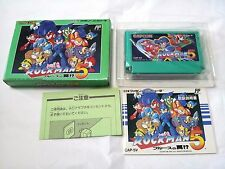 Boxed /ROCKMAN 5 /Famicom FC NES /Japanese Ver.