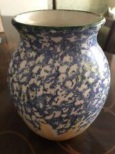 More details for poole pottery england sunflower vase 21cm #676