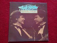 """The Everly Brothers 12"""" LP Vinyl Album Double Album Recorded Live"""