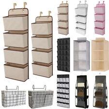 Wall Door Hanging Storage Wardrobe Shelf Bags Organiser Holder Closet Shoe Rack