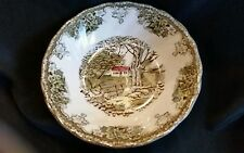 Johnson Brother's Friendly Village Fruit Dessert Berry Bowl MINT!! 2 available!