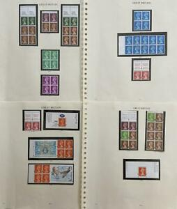 GB QEII MACHIN COLLECTION 75 BOOKLETS, PANES, STRIPS + SINGLES U/MINT MNH @FACE